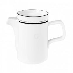 Seltmann Weiden Good Mood Black Line Kaffeekanne 1 0,38 l
