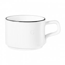 Seltmann Weiden Good Mood Black Line Kaffeetasse 0,18 l