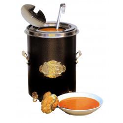 Neumärker Hot-Pot Suppentopf schwarz