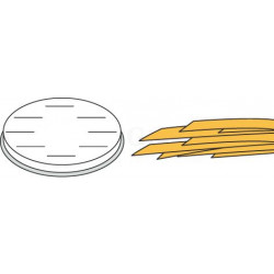 Neumärker Pasta-Scheibe Ø 57 mm Fettuchine für MPF 2,5 und MPF 4