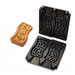 Neumärker Kartoffel-Waffel Backplattensatz für Helios Vertikal-Backsystem