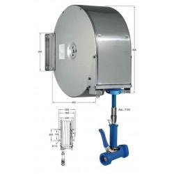 Knauss Armatur Power Reel automatischer Schlauchaufroller geschlossen - 1/2 Zoll - L 15 m