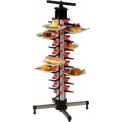 SARO Tellerstapelsystem Plate-Mate® Tischmodell TM-36