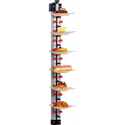 SARO Tellerstapelsystem Plate-Mate® Wandmodell WM-12