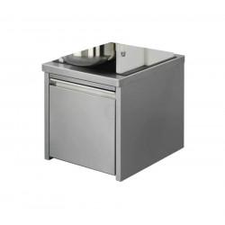 ROTOR Universal-Küchenmaschine Lips Combirex - Unterbau CNS mit Schublade