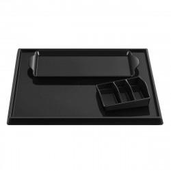 Aliseo Hotel WELCOME TRAY SOLUTION Komplettes Tablettset schwarz