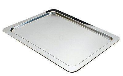 GN 1//2 Edelstahl-Tablett Serviertablett PROFI LINE