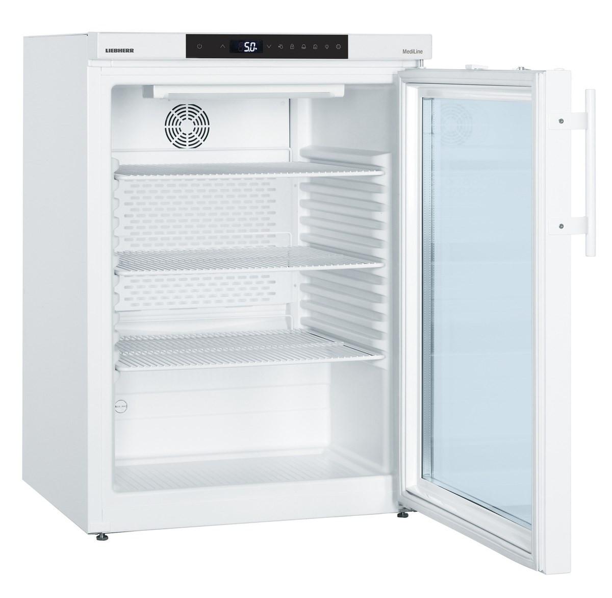 Superbe Liebherr Medizin Kühlschrank MKUv 1613 Mit Glastür