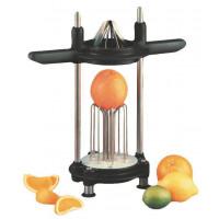Orangen- und Kartoffelteiler mit Orangen