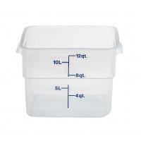Cambro CamSquares® - Transparent Vorratsbehälter 11,4 Liter