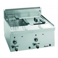 Bartscher Gas Fritteuse 2 x 8 Liter Serie 600 B600-20