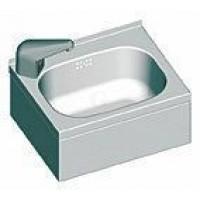 """BLANCO Handwaschbecken mit 3-seitiger Beckenverkleidung sowie selektiv gesteuerter Armatur 1/2"""""""