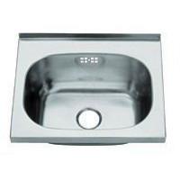 BLANCO Handwaschbecken mit angeschweißten Dreieckskonsolen