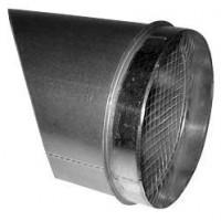 Gastro-Steel Lüftungstechnik Ausblasstutzen 45 Grad
