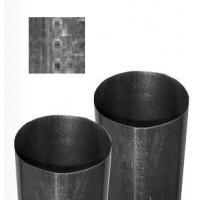 Gastro-Steel Lüftungstechnik Glattrohr 1m