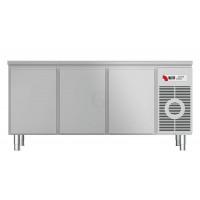 Kühltisch KTF 3010 M mit Arbeitsplatte von KBS