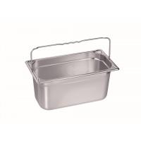 Blanco Gastronorm-Behälter Edelstahl GN 1/3 mit Bügelgriffen