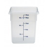 Cambro CamSquares® - Transparent Vorratsbehälter 17,2 Liter