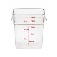 Cambro CamSquares® - Camwear® Vorratsbehälter 17,2 Liter