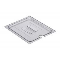 Cambro Camwear® Deckel mit Kerbe und Griff für GastroNorm-Behälter GN 1/2