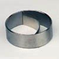 Kronen Edelstahlform Ring 70 mm mit Schublade