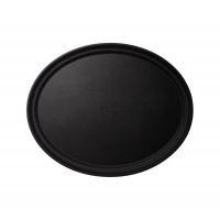 CAMBRO Camtread Fiberglas Tablett mit Rutschfester Oberfläche 56 x 68,5 cm Stück Schwarz