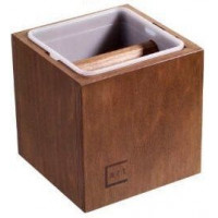 Coffway Abschlagbehälter Classic Braun
