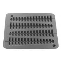 Neumärker Waffeleisen Lollywaffel am Stiel Backplatte, Aluminium-20