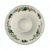 Seltmann Weiden Eierbecher mit Ablage - Marieluise elfenbein 43607 Weihnachten