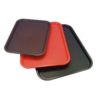 APS Fast Food-Tablett braun 45 x 35,5 cm