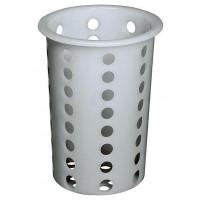 APS Besteckköcher Kunststoff weiß