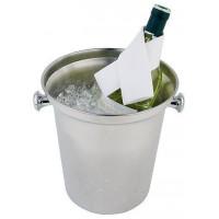 APS Wein-/ Sektkühler Edelstahl poliert 21,5x22 cm