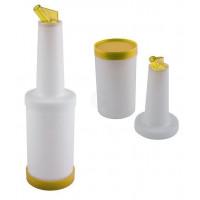 APS Bar Dosier- & Vorratsflasche 1l gelb