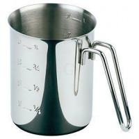APS Messbecher 1 Liter Edelstahl