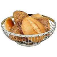 APS Brot- und Obstkorb oval 20x15x6,5 cm Edelstahl