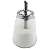APS Allzweckgießer 300ml Glas/Edelstahl für Zucker