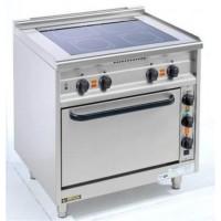 EKU Thermik 650 Elektroherd mit Ceranfeld 2 Kochzonen