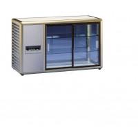 Kühlaufsatzvitrine Orizont 200 Q mit Schiebetüren (bronze) von KBS