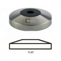 Coffway Kaffeemehlpresser Tamper Unterteil Base Flat Sondergröße 49.5mm