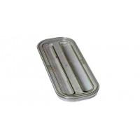 Rieber GastroNorm-Behälter GN 2/8 Flachdeckel transparent