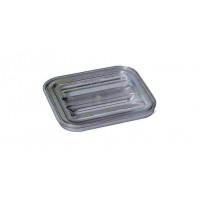 Rieber GastroNorm-Behälter GN 1/6 Flachdeckel transparent