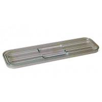 Rieber GastroNorm-Behälter GN 2/4 Flachdeckel transparent