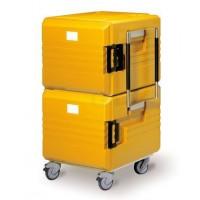 Rieber Thermoport Speisentransportbehälter 2x6000 K fahrbar orange