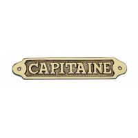 Sea Club Türschild Capitaine