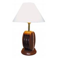 SeaClub Lampe-Blockrolle Holz