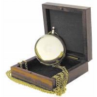 SeaClub Kompass in Taschenuhrform in Holzbox
