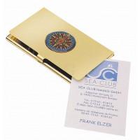 SeaClub Visitenkartenbox mit Kompassrose