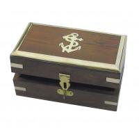SeaClub Holzbox 14 x 8 x 6,5 cm