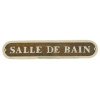 Sea Club Türschild Salle De Bain Holz