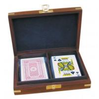 SeaClub Spielkartenbox inkl. doppeltes Kartenspiel